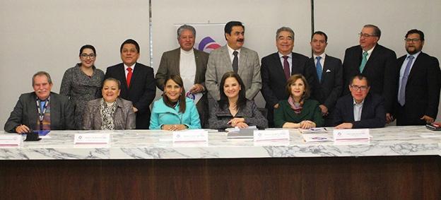 Comisionados integrantes de la Comisión de Rendición de Cuentas del Sistema Nacional de Transparencia