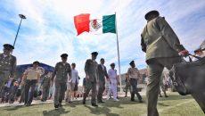 Alejandro Tello Cristerna, el Secretario de la Defensa Nacional, Salvador Cienfuegos Zepeda