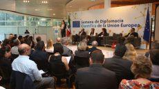 Foro de Diplomacia Científica México y la Unión Europea, en el marco de la Semana de Diplomacia Científica de la Unión Europea, que tuvo lugar este miércoles 21 de marzo en el Museo de Arte Moderno. (Fotos: Elizabeth Ruiz JAIMES/AMC.)