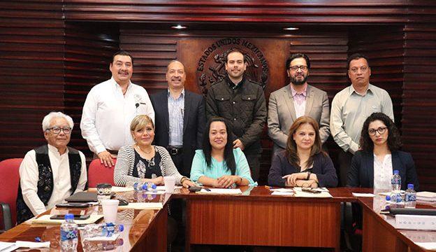 La Diputada Guadalupe Nalleli Román Lira recibió a los integrantes del Secretariado Técnico Local de Gobierno Abierto en la Legislatura del Estado.