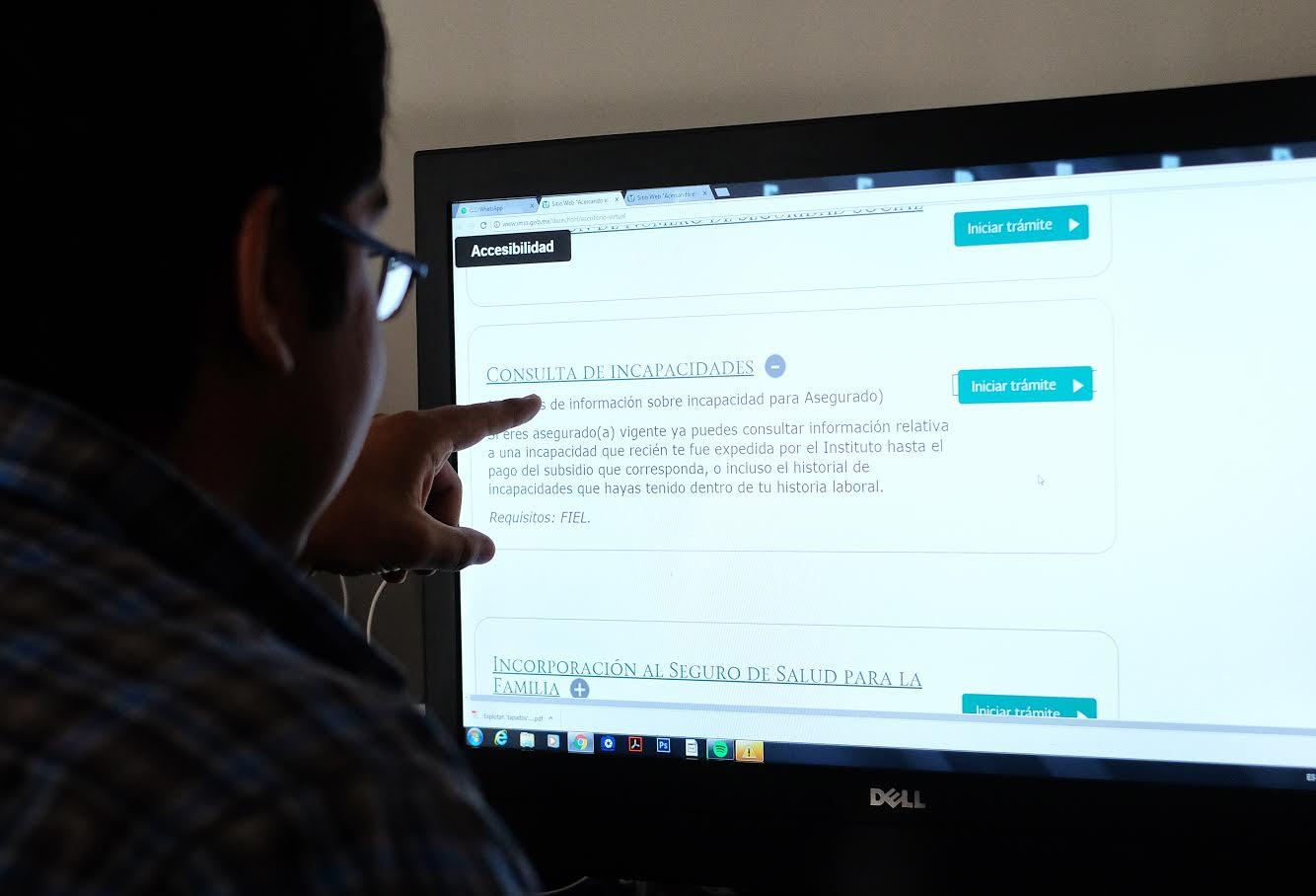 Digitalizan el pago de incapacidades