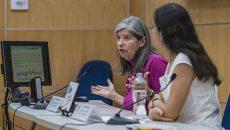 Graciela Raga y Rosario Romero Centeno, investigadoras del Centro de Ciencias de la Atmósfera de la UNAM. (Foto: DGCS/UNAM.)