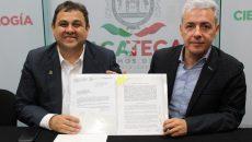 Antonio Guzmán y Agustín Enciso