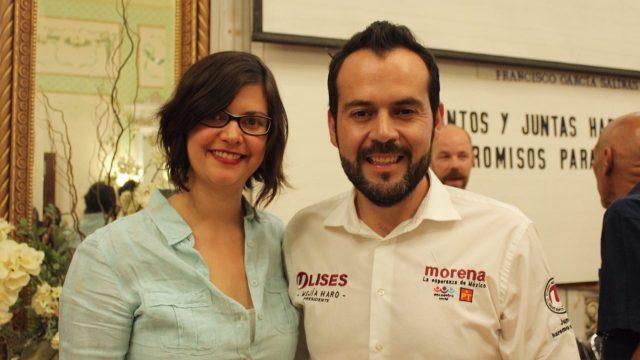 Ulises Mejía Haro y Mara Muñoz