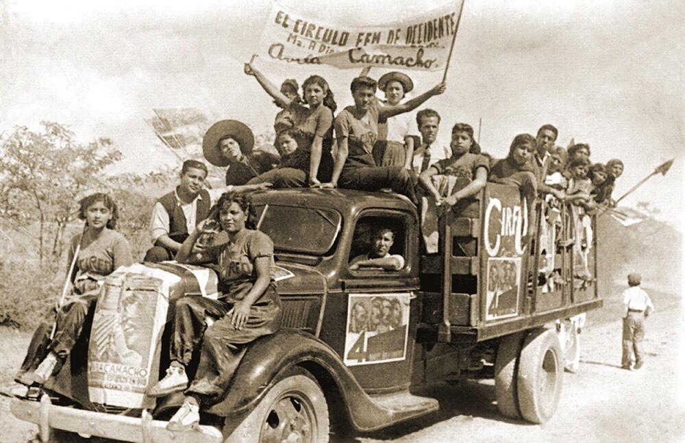 La lucha de las mujeres por obtener derechos políticos y laborales no es un fenómeno reciente, sino una manifestación histórica.     (Foto: cortesía Dra. María Teresa Fernández.)