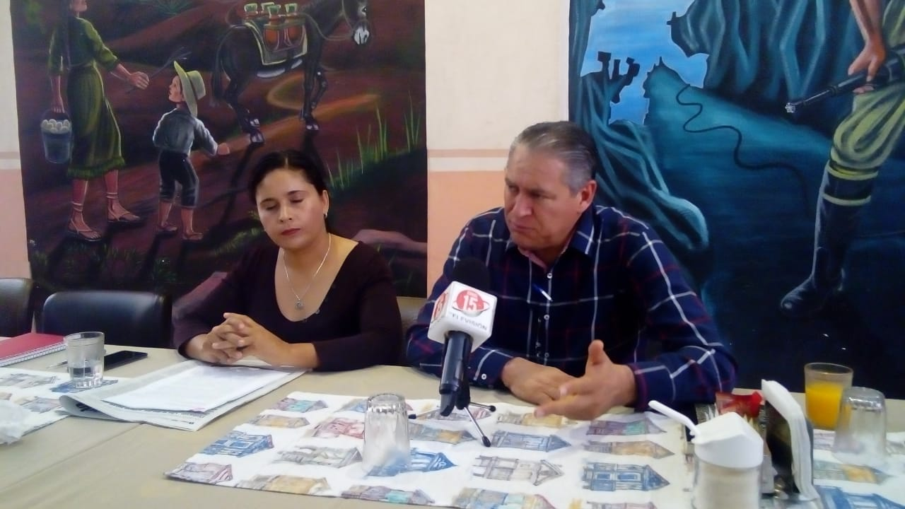 Alma Dávila y Javier Calzada