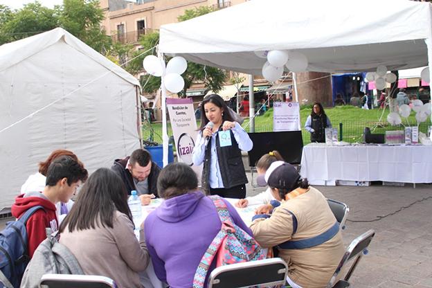 Se realizaron juegos de mesa con material alusivo al Acceso a la Información y la Protección de Datos Personales