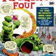 Portada del No. 1 vol.1 de Los cuatro fantásticos, de Marvel Comics, que salió al público estadounidense en noviembre de 1962. Stan Lee, editor. Jack Kirby y George Klein, artistas de portada. (Foto: tomada de: https://pcbang.games.)