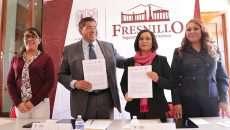 La CDHEZ y Fresnillo firman convenio de colaboración