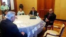 Se entrevistó el rector Antonio Guzmán con el Secretario de Educación Pública
