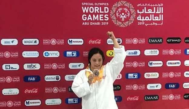 Adriana Iturriaga obtiene bronce en Emiratos Árabes Unidos