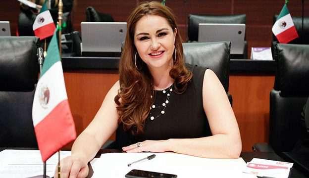 Geovanna Bañuelos al frente del Grupo Parlamentario del PT