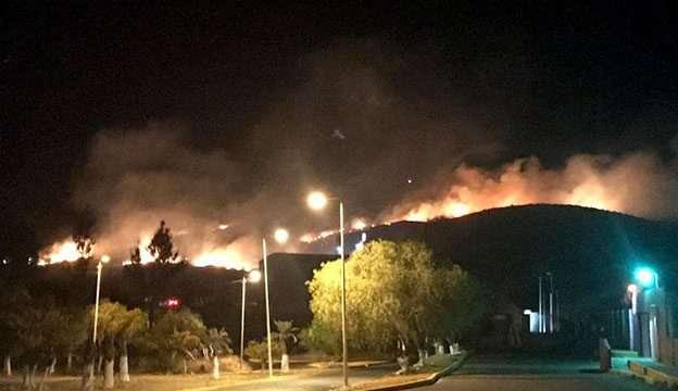Interpondrán denuncia por incendio provocado en Ecoparque