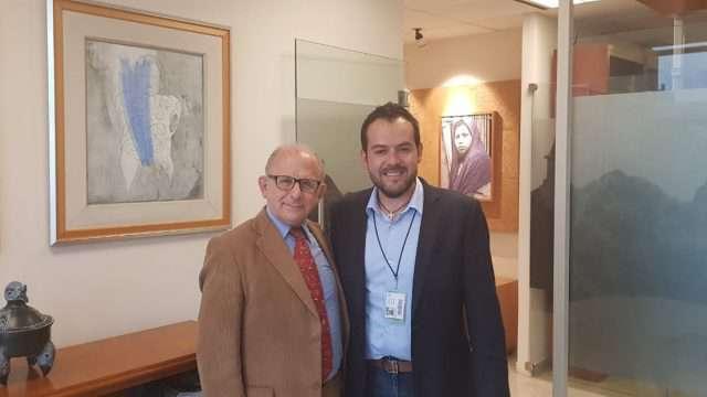 Se reúne Ulises Mejía con Diego Prieto director del INAH