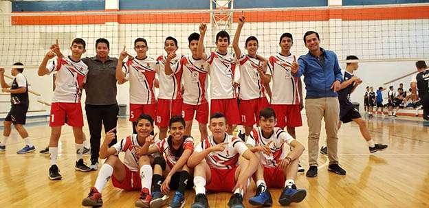 Selectivo zacatecano de voleibol clasifica a Olimpiada Nacional