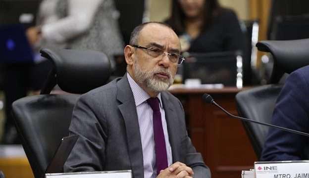 Consejero INE Jaime Rivera Velázquez