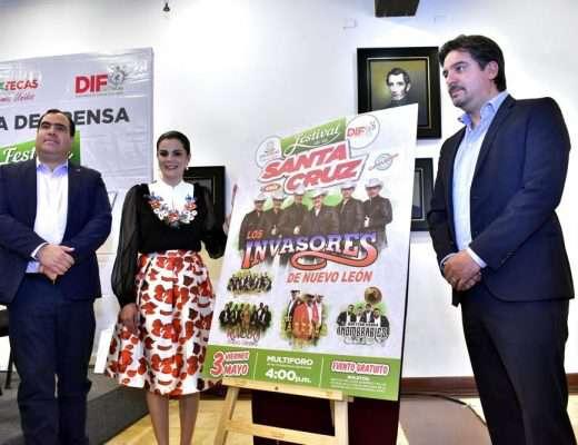 Presentan el Festival de la Santa Cruz