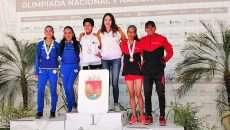 Ghazal Ruiz complementa la obra en Nacional Juvenil de Atletismo