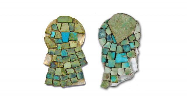 Narigueras yacaxihuitl halladas en el Templo Mayor. (Fotografías: Cortesía del investigador)